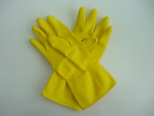 HOUSEHOLD GLOVE - YELLOW