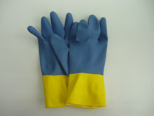 INDUSTRIAL GLOVE - BI COLOR
