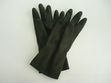 INDUSTRIAL GLOVE - BLACK